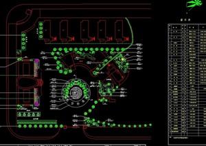 某工厂新区绿化设计图