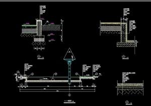 柱廊详细设计cad施工图