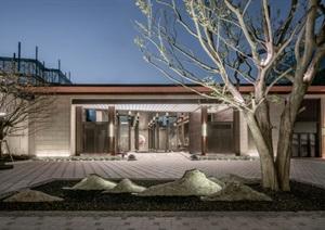 某古典风格居住区高层住宅建筑设计SU(草图大师)模型