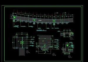 艺术长廊施工平面图