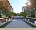 新中式住宅大区景观展示区