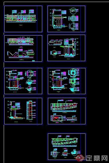 雨棚3d模型_酒店雨棚设计施工图纸