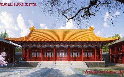 山西省高平市城隍庙复建工程