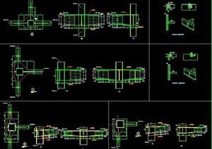 钢框架主次梁铰接连接节点构造详图
