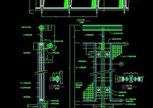 鋼架樓梯欄桿詳圖設計
