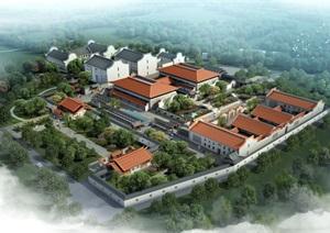 福建书院及文化交流中心(含效果图)