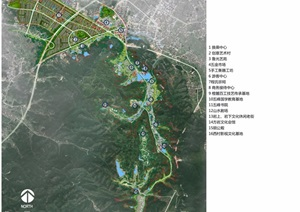 某详细的魅力小镇概念规划pdf方案