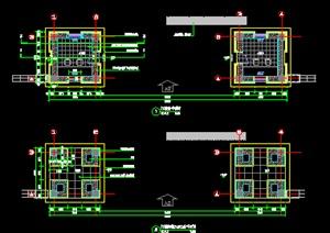 事业单位门楼设计施工图
