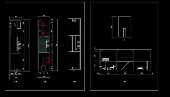 安藤忠雄大师经典作品住吉的长屋案例分析su+CAD+分析ppt(1)
