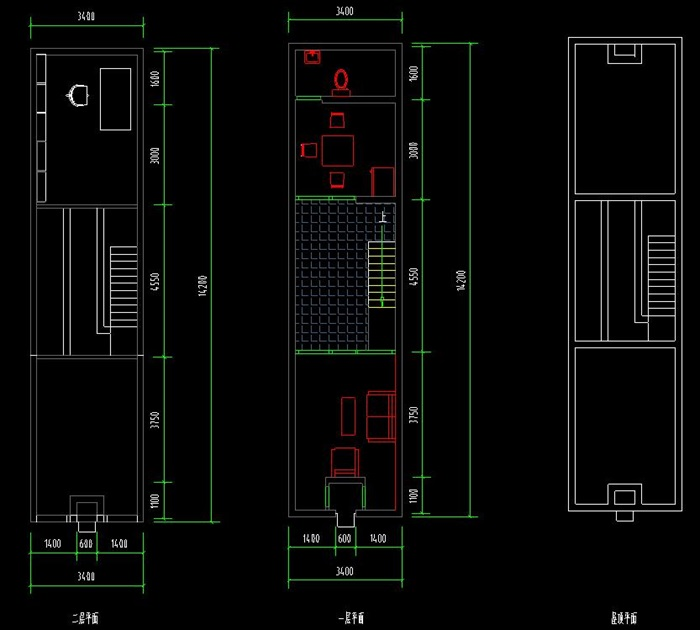 安藤忠雄大师经典作品住吉的长屋案例分析su+CAD+分析ppt(2)