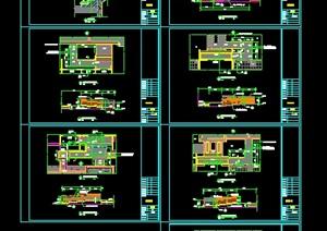 """入户""""无障碍""""详细CAD施工图"""
