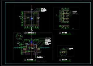 "景观""涌泉""详细CAD施工图"