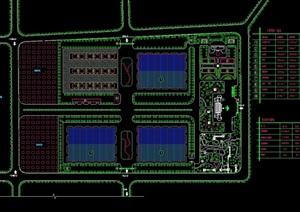 某工厂规划设计cad方案图