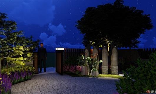 某现代风格庭院(方案设计)