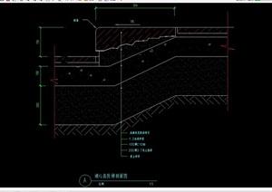 台阶设计cad剖面图