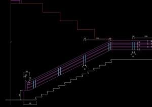 台阶踏步设计cad方案