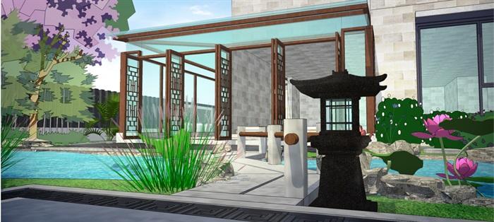 新中式庭院(2)